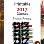 Download These Printable 2017 Glasses Photo Props