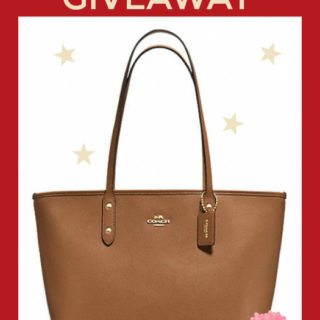 Enter Our designer Purse Giveaway And Win A New Coach Tote!