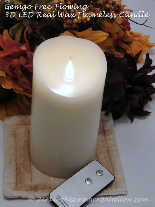 Gemgo Free-Flowing 3D LED Flameless candles