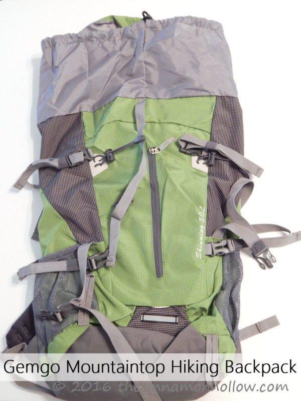 Gemgo Mountaintop Hiking Backpack
