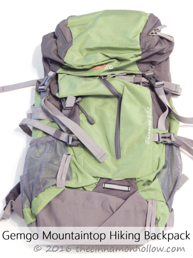 Gemgo Mountaintop Hiking Backpack
