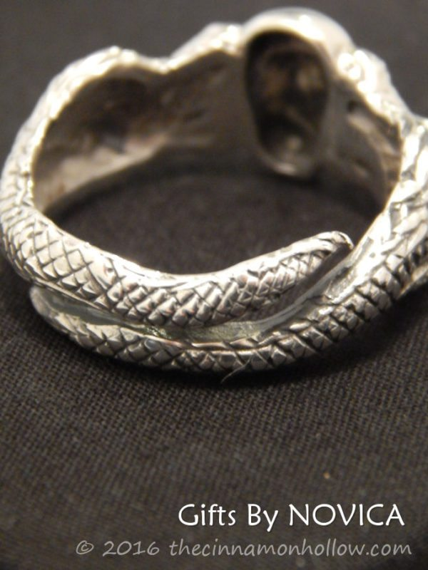 Novica - Handmade Gifts - Fierce Dragon Ring