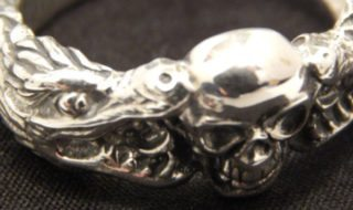 Novica - Handmade Gifts - Fierce Dragon Ring