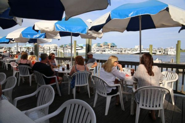 Wrightsville Beach, NC: Dockside