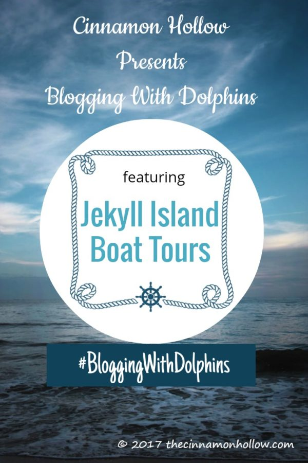 Jekyll Island Boat Tours - Blogging With Dolphins