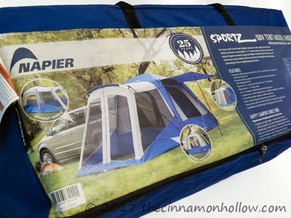 Sportz SUV Tent with Screen Room (Model 84,000)