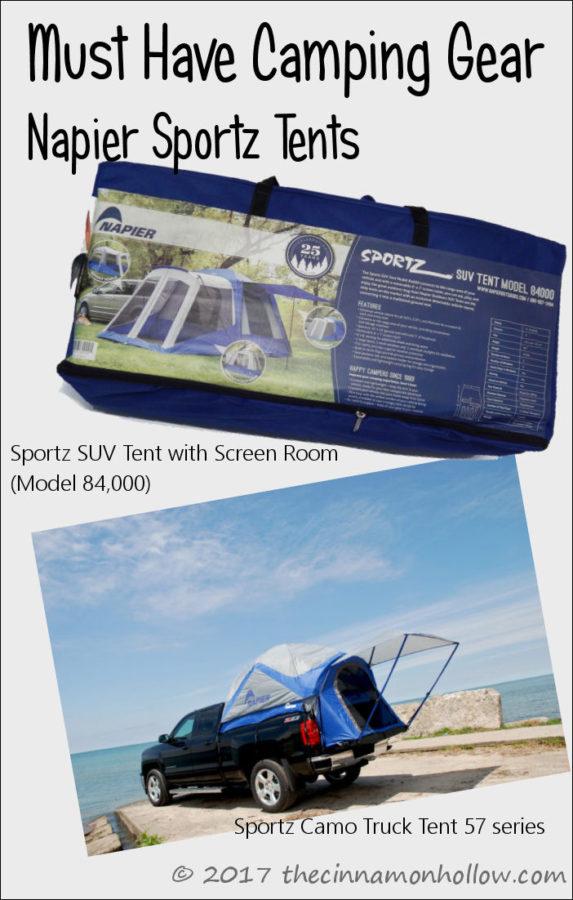 Napier Sportz Tents