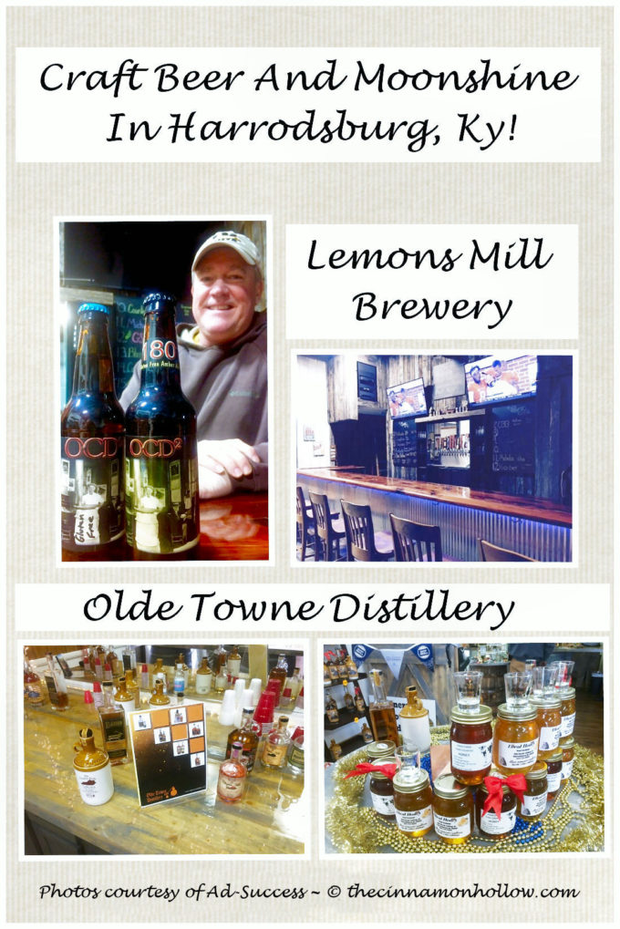 Enjoy Craft Beer And Moonshine In Harrodsburg, Ky!