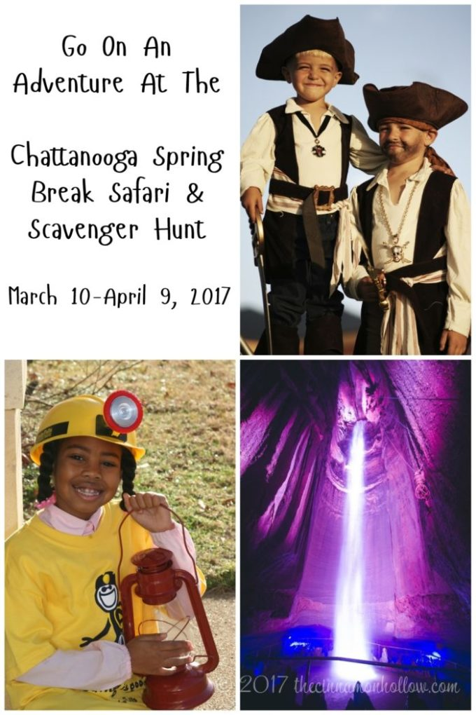 Adventure At The Chattanooga Spring Break Safari & Scavenger Hunt