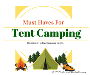 Tent Camping Series