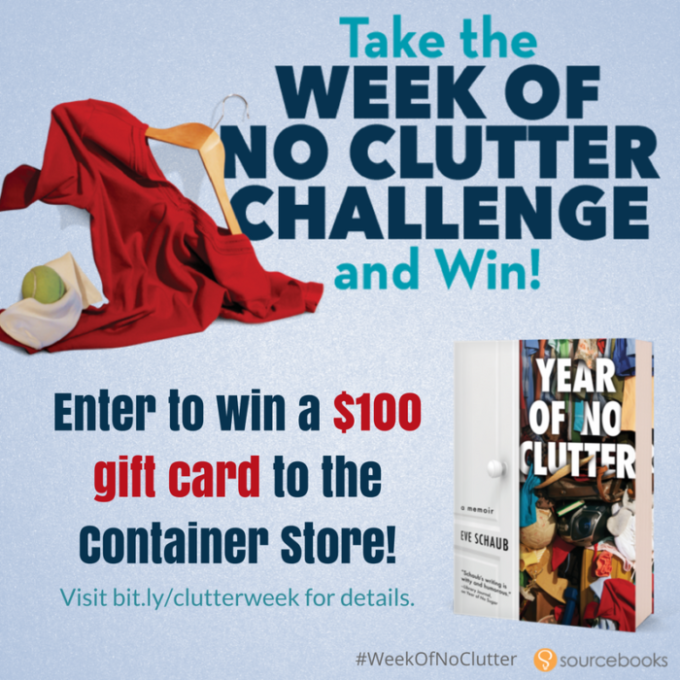 Clear Out The Mess On The Day Of No Clutter!