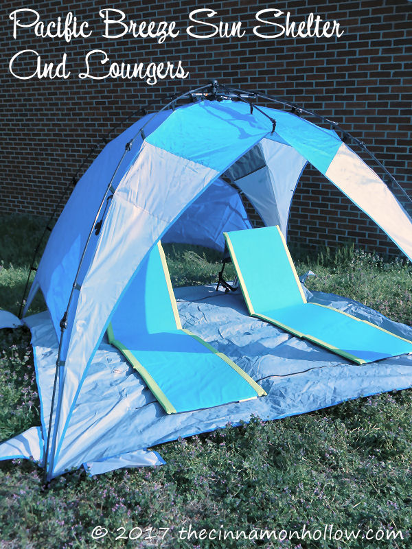 Avoid Painful Sunburn With An Easy Up Beach Shelter