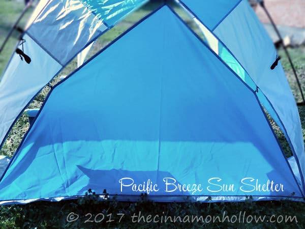 Pacific Breeze Beach Shelter