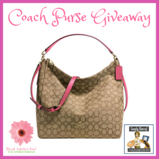 Enter To Win This Gorgeous Coach Purse Giveaway!