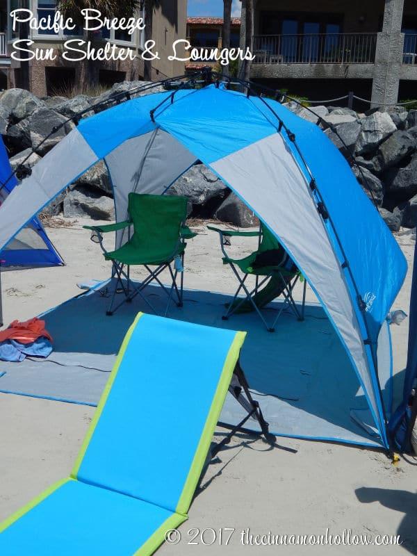 Pacific Breeze Sun Shelter