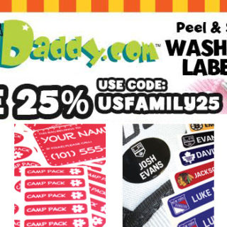 Save 25% On Label Daddy Labels