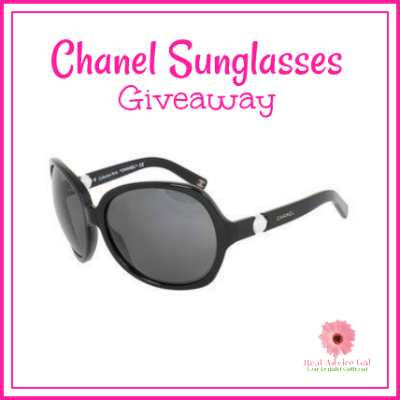 Enter Our Giveaway To Win A Pair Of Chanel Sunglasses!