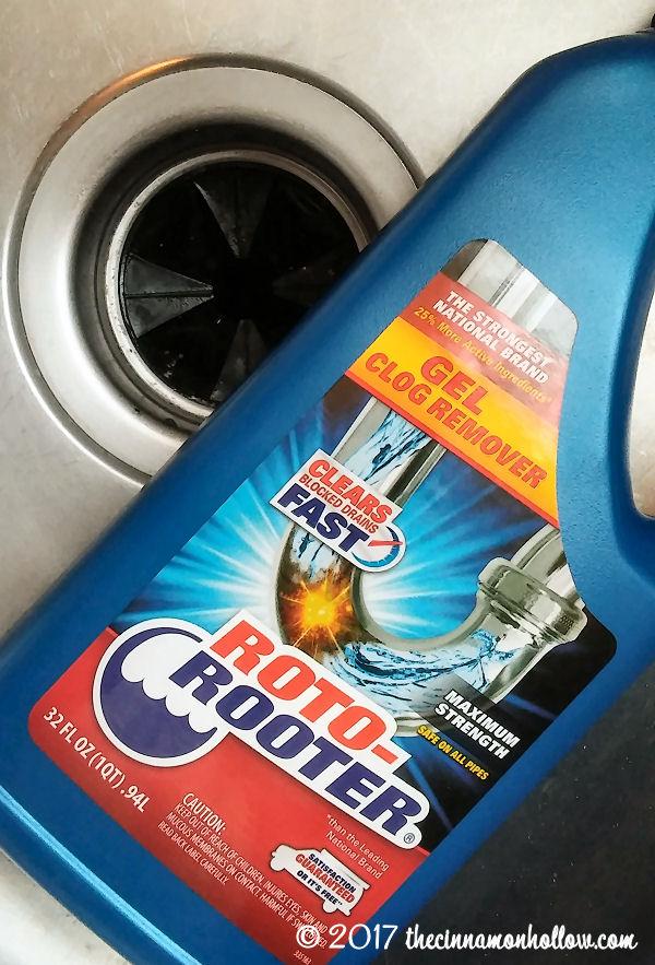 DIY Plumbing Fixes - Roto-Rooter Gel Clog Remover