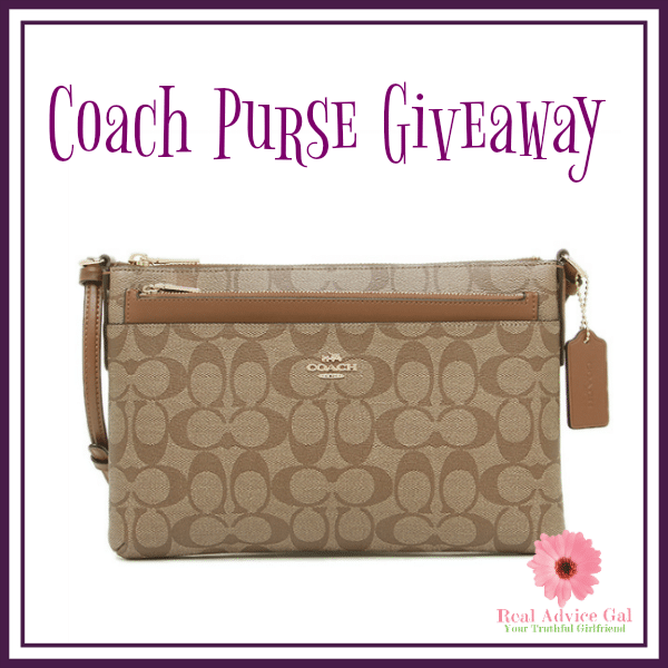 Enter To Win This Fabulous Coach Purse Giveaway