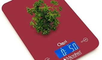Ozeri Touch II Digital Kitchen Scale