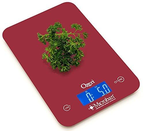 Ozeri Touch II 18 lbs. Digital Kitchen Scale