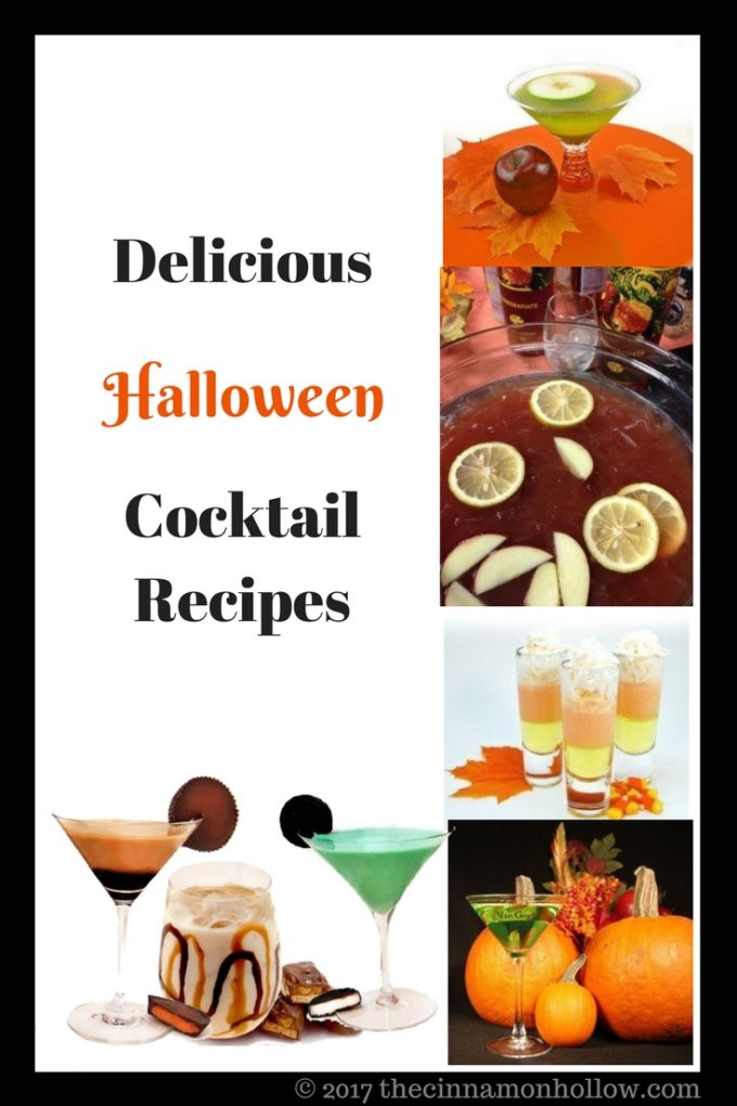 Halloween Cocktail Recipes