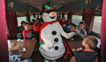 Holiday Train Ride On The North Pole Express