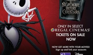 See The Nightmare Before Christmas At Regal Cinemas Nationwide