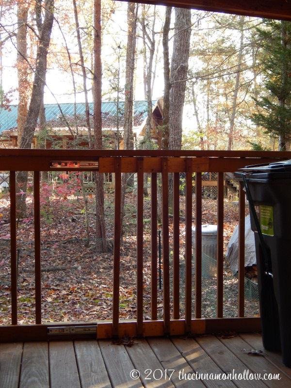 Hapey Memories Cabin Dog Yard Gate