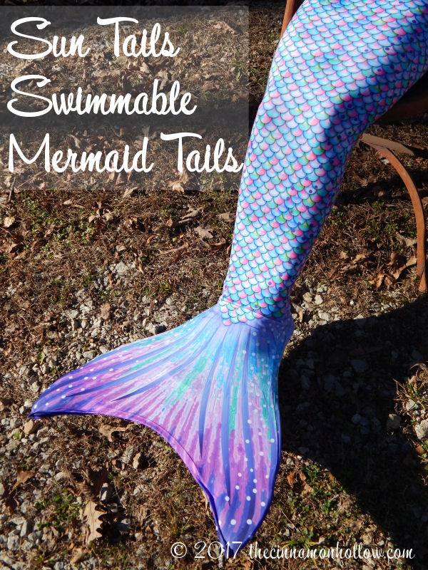 Summer Fun In The Winter With Swimmable Mermaid Tails