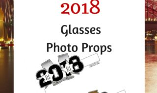 2018 New Years Photo Props