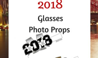 Download These Printable 2018 Glasses Photo Props