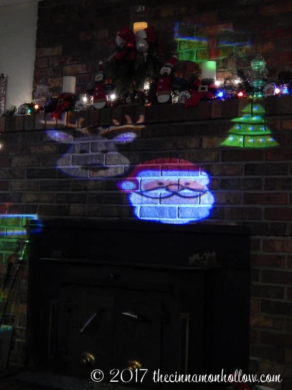 Christmas Decorations Ideas: Star Shower Slideshow Indoor