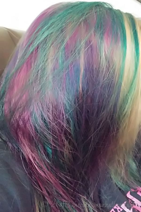 DIY Mermaid Hair At Home