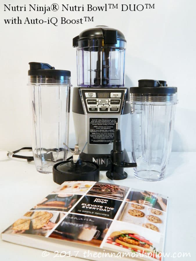 Create Healthy Recipes With The Nutri Ninja Nutri Bowl DUO