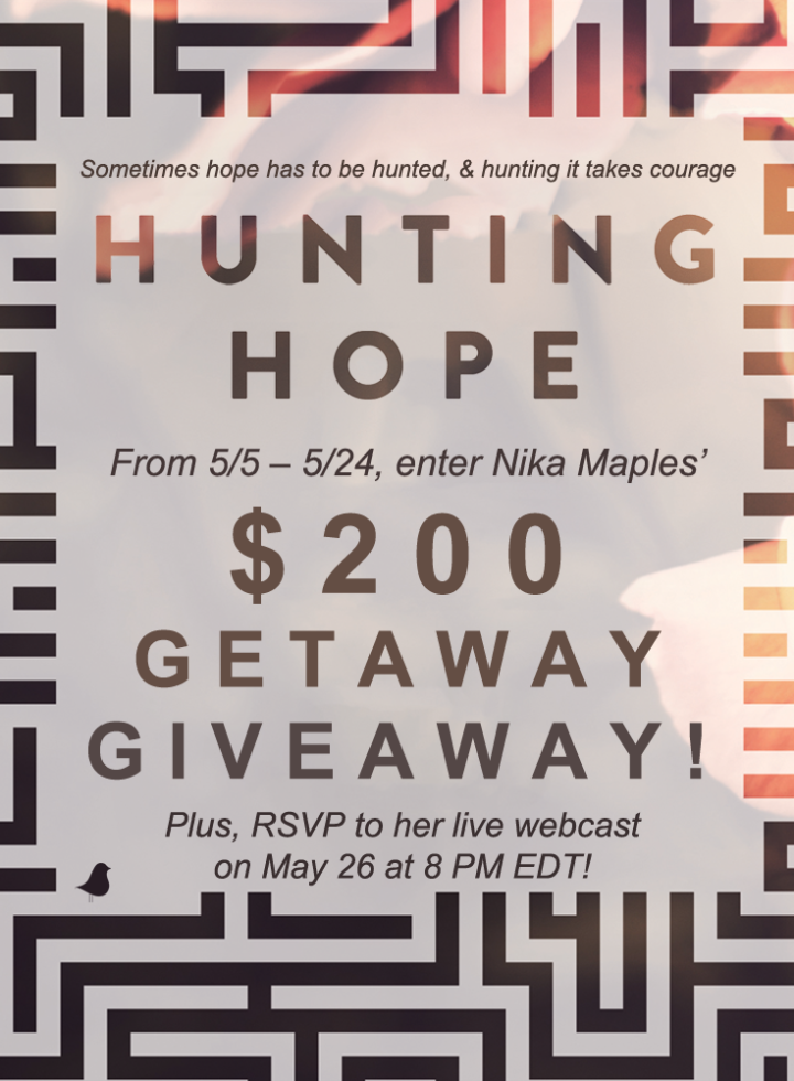 Hunting Hope By Nika Maples (Plus A Giveaway And Live Webcast)