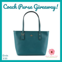 Enter To Win This Gorgeous New Coach Purse!