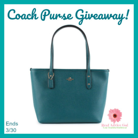 New Coach Purse Giveaway