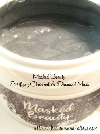 Masked Beauty Charcoal and Diamonds Facial Masks