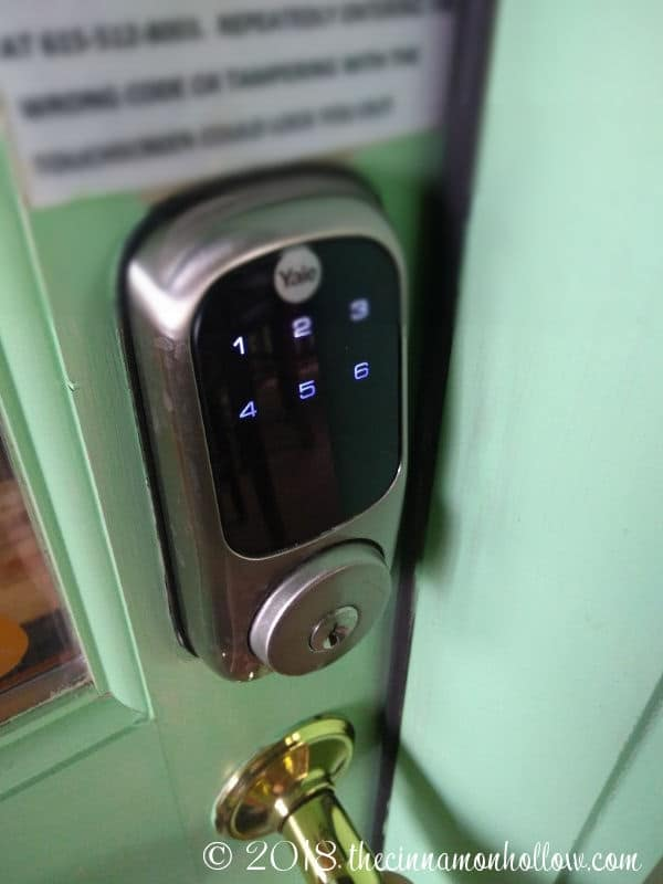 The Summit Cabin Keyless Entry