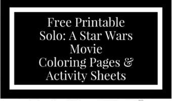 Solo A Star Wars Story Coloring Pages And Activity Set Download