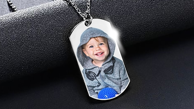 Dog Tag Photo Pendants: Great Father's Day Or Grad Gift Idea!