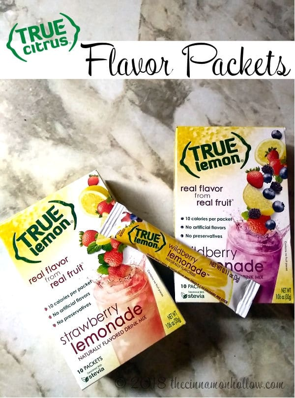 True Citrus Lemonade Packets