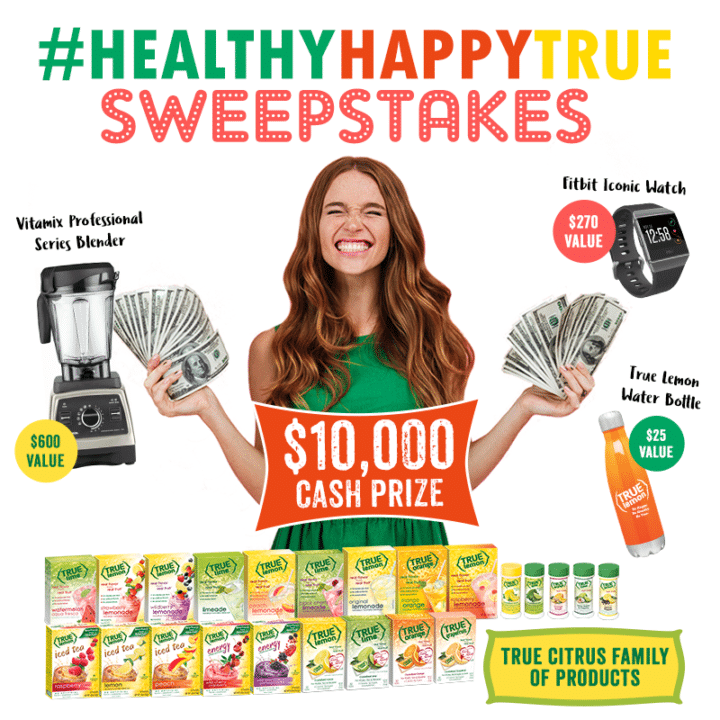 True Citrus - The #HealthyHappyTrue Sweepstakes
