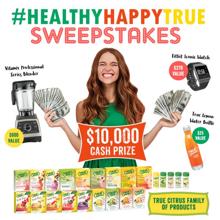 True Citrus - The #HealthyHappyTrue Sweepstakes