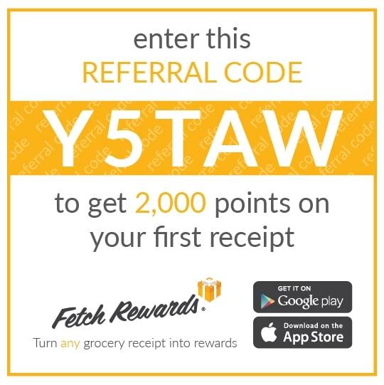 Fetch Rewards Referral Graphic