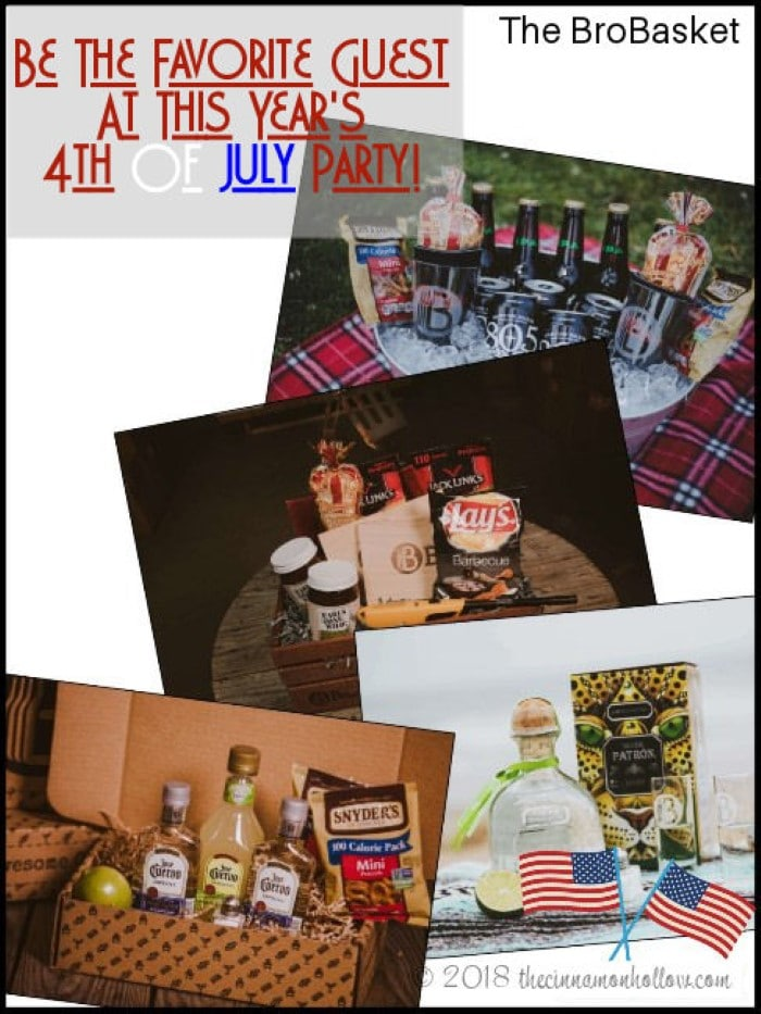 4th of July party With The BroBasket