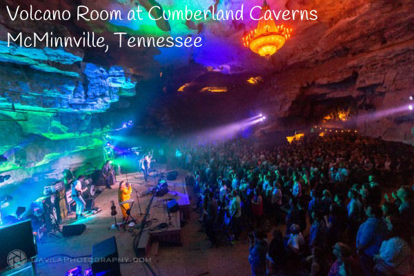 Volcano Room at Cumberland Caverns in McMinnville Tennessee