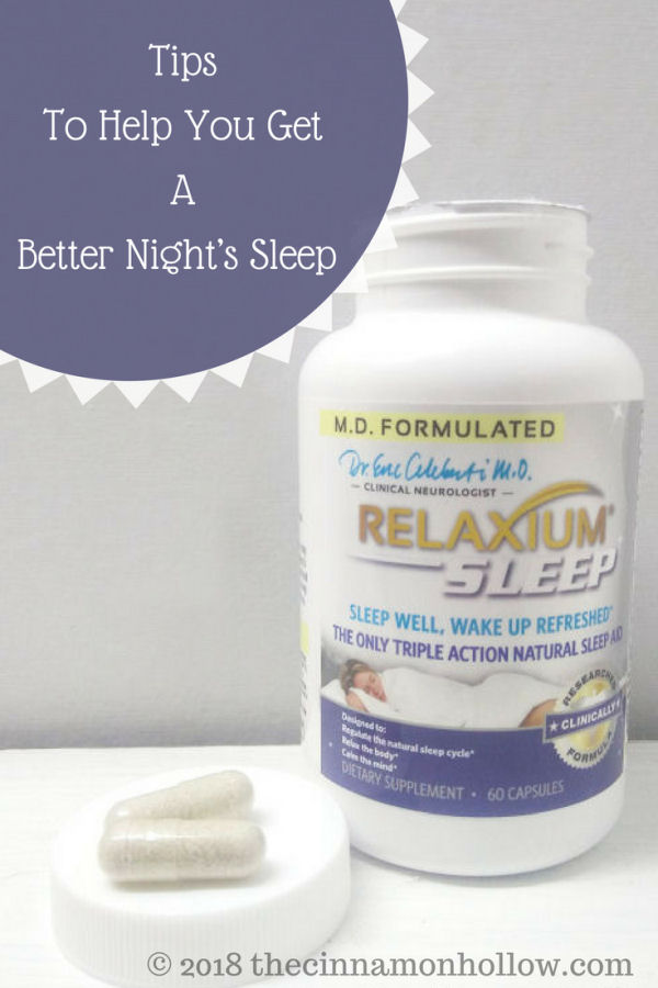 Tips To Help You Get A Better Night's Sleep
