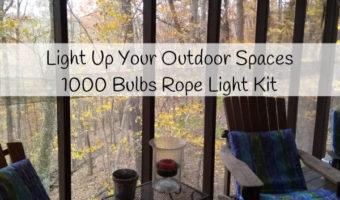 1000 Bulbs Rope Light Kits